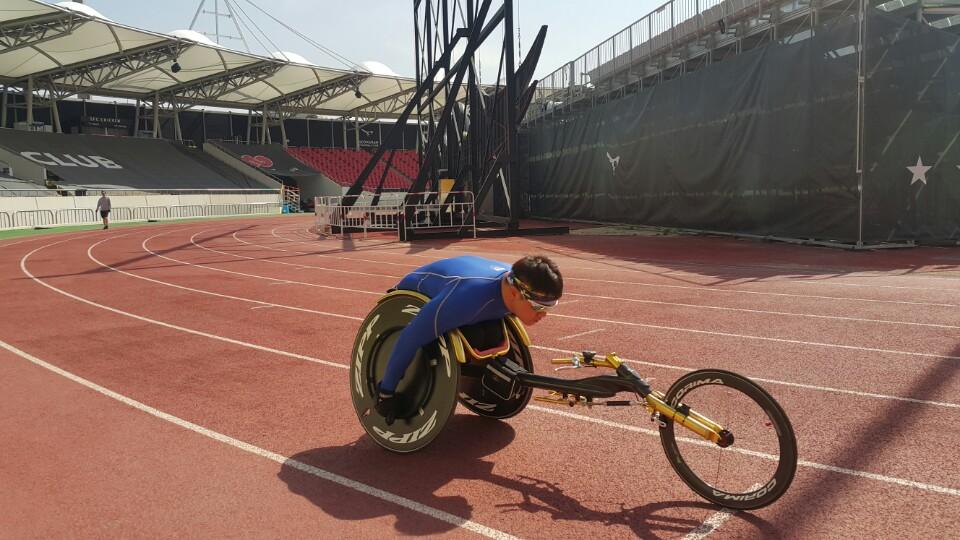 휠체어경주 연습II-사진3