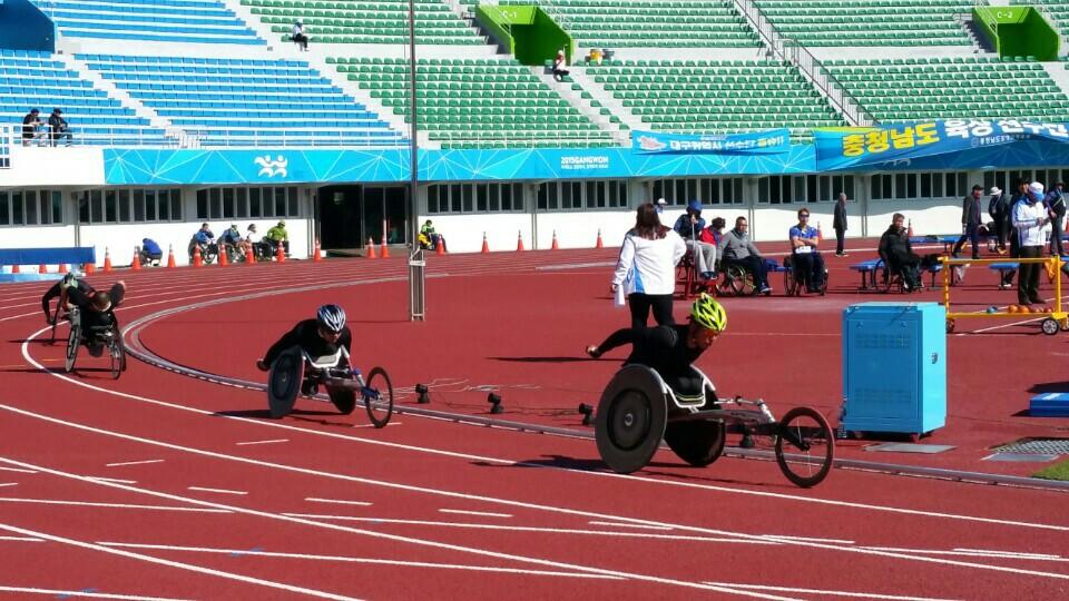휠체어경주-사진1