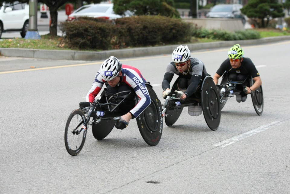 휠체어경주-사진2